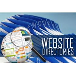 Web Directory Homepage Permanent Backlinks DA30+
