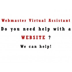 Webmaster Virtual Assistant Help and Support