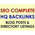 100 Live Blog Posts + 50 Approved Catalog Listings on 150 different websites