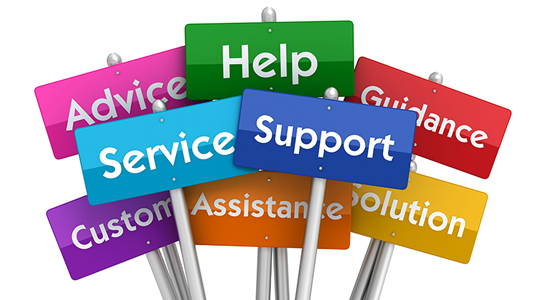 Support and Assistance