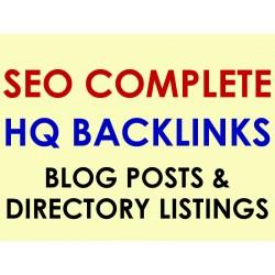 100 Live Blog Posts + 50 Approved Catalog Listings on 150 different websites